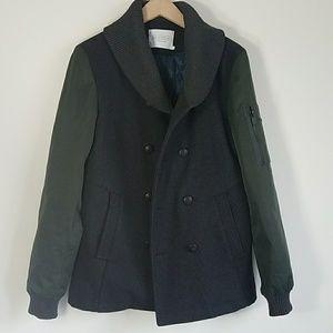 Eleven Paris Men's Pea Coat
